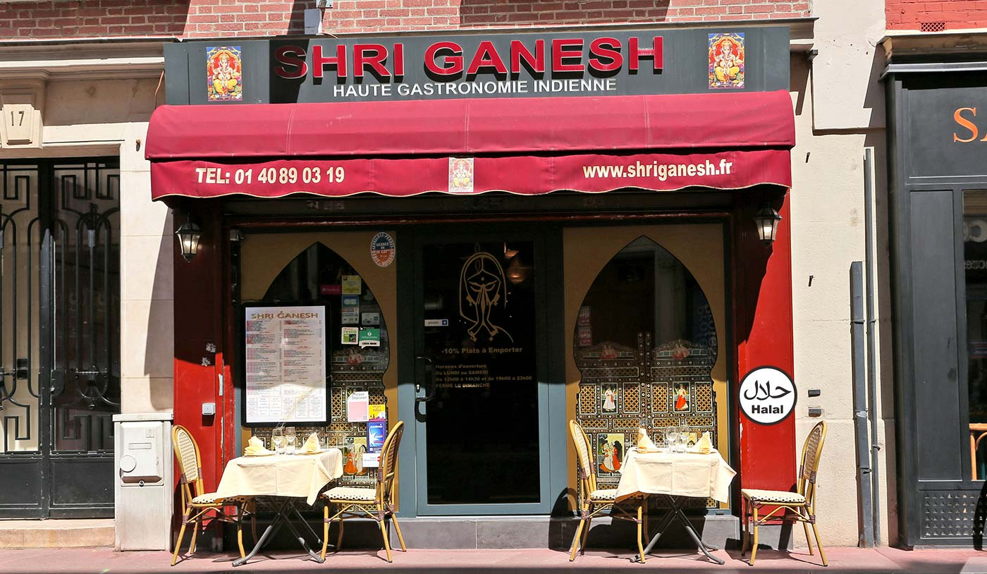 Restaurant Indien Shri Ganesh - Levallois-Perret