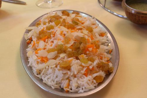 Restaurant Shriganesh menu indien 2